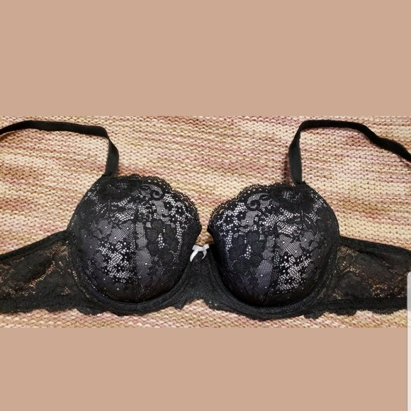36C Victorias Secret Dream Angels Lightly Lined Demi Underwire Lace Bra NWT